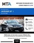 MTA Jaguar XF I berline phase 1