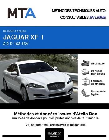 MTA Jaguar XF I berline phase 2