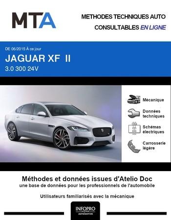 MTA Jaguar XF II berline