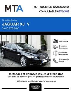 MTA Jaguar XJ V berline phase 1