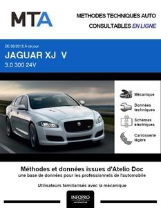MTA Jaguar XJ V berline phase 2