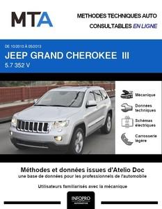 MTA Jeep Grand Cherokee WK2 phase 1