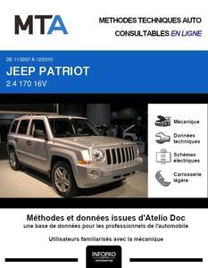 MTA Jeep Patriot phase 1
