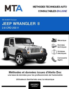 MTA Jeep Wrangler JK 3p