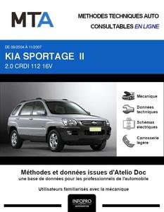 MTA Kia Sportage II phase 1