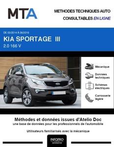 MTA Kia Sportage III phase 2