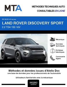 MTA Land Rover Discovery Sport phase 1