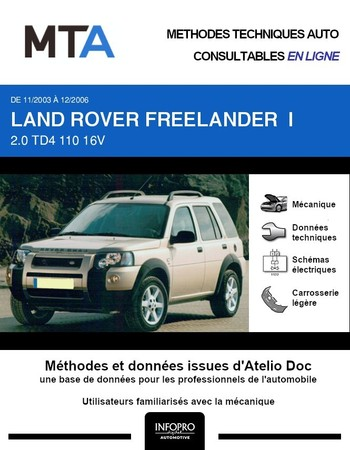 MTA Land Rover Freelander I 5p phase 4