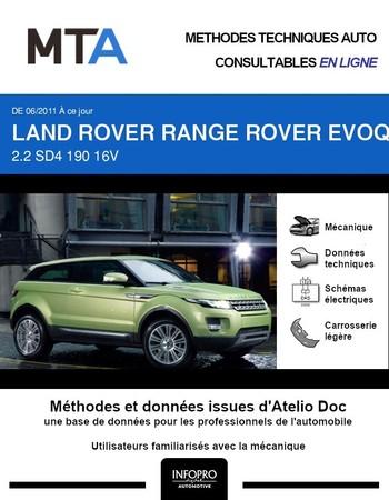 MTA Land Rover Range Rover Evoque I 3p phase 1