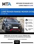 MTA Land Rover Range Rover Evoque I 5p phase 2