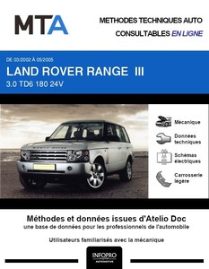 MTA Land Rover Range Rover III phase 1