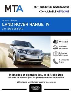 MTA Land Rover Range Rover IV phase 1