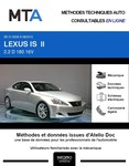 MTA Lexus IS II berline phase 1