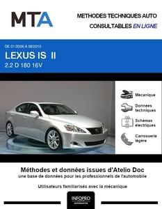 MTA Lexus IS II berline phase 1