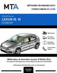 MTA Lexus IS III berline phase 1