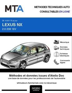 MTA Lexus NX phase 2