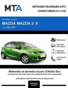 MTA Mazda 2 II 5p phase 1