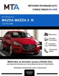 MTA Mazda 2 III berline phase 1