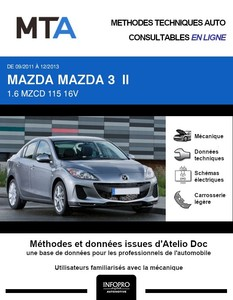 MTA Mazda 3 II berline phase 2
