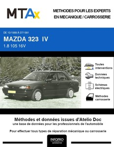MTA Mazda 323 IV  berline phase 1