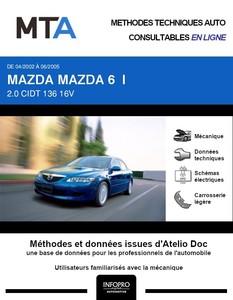 MTA Mazda 6 I berline phase 1