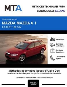 MTA Mazda 6 I break phase 1