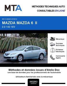 MTA Mazda 6 II berline phase 1