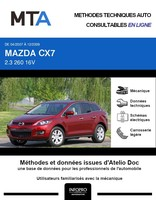 MTA Mazda CX-7 phase 1