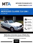 MTA Mercedes CLK I (208) cabriolet phase 1