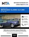 MTA Mercedes CLK I (208) cabriolet phase 2