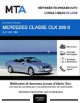 MTA Mercedes CLK II (209) cabriolet phase 1