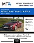 MTA Mercedes CLK II (209) cabriolet phase 2