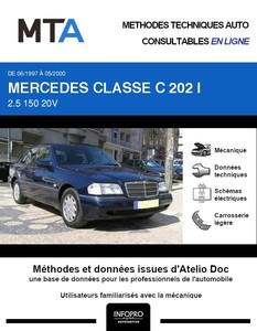 MTA Mercedes Classe C (202) berline phase 2