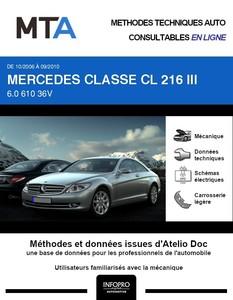 MTA Mercedes Classe CL (216) coupé phase 1