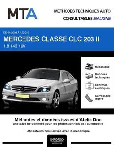 MTA Mercedes Classe CLC W203 coupé