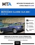 MTA Mercedes Classe CLK I (208) cabriolet phase 2