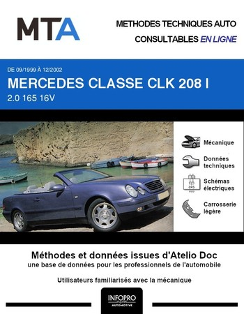 MTA Mercedes Classe CLK I (208) cabriolet phase 2