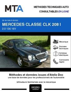 MTA Mercedes Classe CLK I (208) coupé phase 2