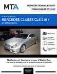 MTA Mercedes Classe CLS I (219) berline phase 1