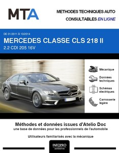 MTA Mercedes Classe CLS II (218) berline phase 1