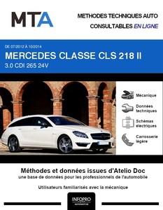 MTA Mercedes Classe CLS II (218) break phase 1