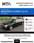 MTA Mercedes Classe E (211) berline 6p phase 1