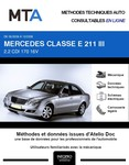 MTA Mercedes Classe E (211) berline phase 2