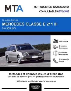 MTA Mercedes Classe E (211) break phase 1