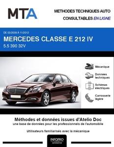 MTA Mercedes Classe E (212) berline (W212) phase 1