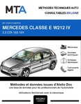 MTA Mercedes Classe E (212) berline (W212) phase 2