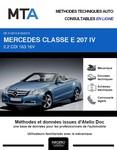 MTA Mercedes Classe E (212) cabriolet (A207) phase 1