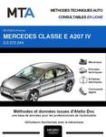 MTA Mercedes Classe E (212) cabriolet (A207) phase 2