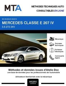 MTA Mercedes Classe E (212) coupé (C207) phase 1