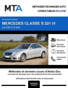 MTA Mercedes Classe S (221) phase 1
